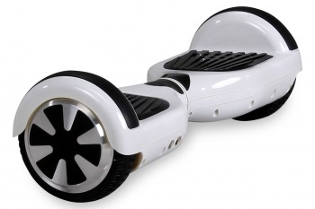 Hoverboard ROBWAY W1 CLASSIC 6,5 Zoll Reifen E-Balance Board - Weiss