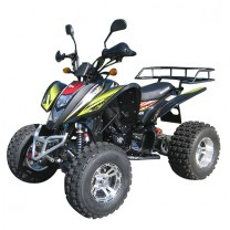 QUAD ATV SHINERAY STXE PLUS 250ccm SCHWARZ