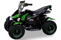 Mini Kinder ATV Quad Cobra 50ccm Pocketquad 2-takt Quad - Schwarz/grun