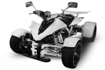 QUAD 350ccm SPY SPYDER F1 350 30PS-120kmh White