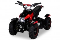 Mini Elektro Kinder ATV Cobra 800 Watt Pocket Quad - Schwarz/Rot