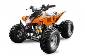 QUAD ATV 125ccm GRIZZLY OFFROAD Kinderquad ORANGE