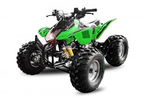 QUAD ATV 125ccm GRIZZLY OFFROAD Kinderquad GRUN