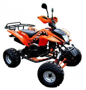 QUAD ATV SHINERAY 200ccm XY200STIIE-B Straßenzulassung ORANGE