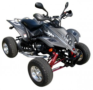 QUAD ATV SPORT SHINERAY STIXE 250ccm GRAU CARBON