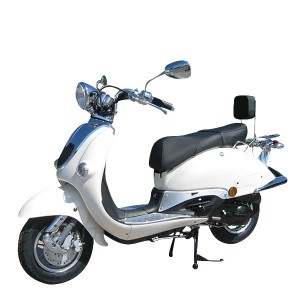 ZNEN RETRO ROLLER SCOOTER 125ccm WEISS