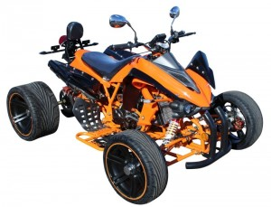 "QUAD ATV CROSSFIRE 250ccm 14"" Wasserkühlung ORANGE"