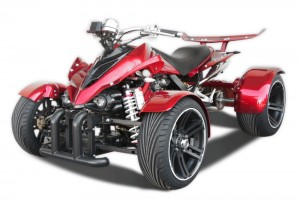 QUAD 350ccm SPY SPYDER F1 350 30PS-120kmh WINE RED