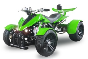 QUAD 350ccm SPY SPYDER F1 350 30PS-120kmh GRUN