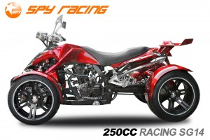 QUAD 250ccm SPY SPYDER F1 250 18PS-100kmh ROT