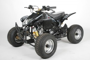 QUAD ATV 125ccm GRIZZLY ONROAD Kinderquad Schwarz