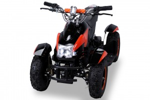 Mini Elektro Kinder ATV Cobra 800 Watt Pocket Quad - Schwarz/Orange