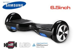 SMARTY Hover S6 - Elektro Balance Scooter - 6,5 inch -  2x350W - Samsung Battery