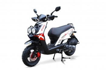 BW Cross - 125ccm 85kmh MOTORROLLER ROT