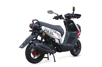 BW Cross 50 - 50ccm 45kmh MOTORROLLER ROT 45kmh