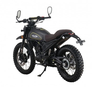 Dakar 125 matt schwarz