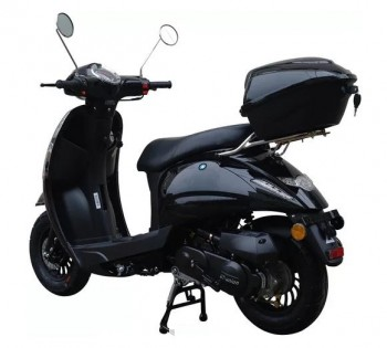 Top Case Massimo 50 schwarz