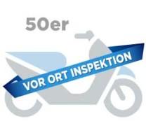 Inspektion Motorroller 50er