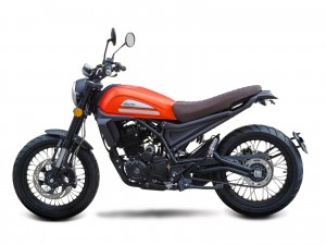 Cafe Racer 125 STS orange