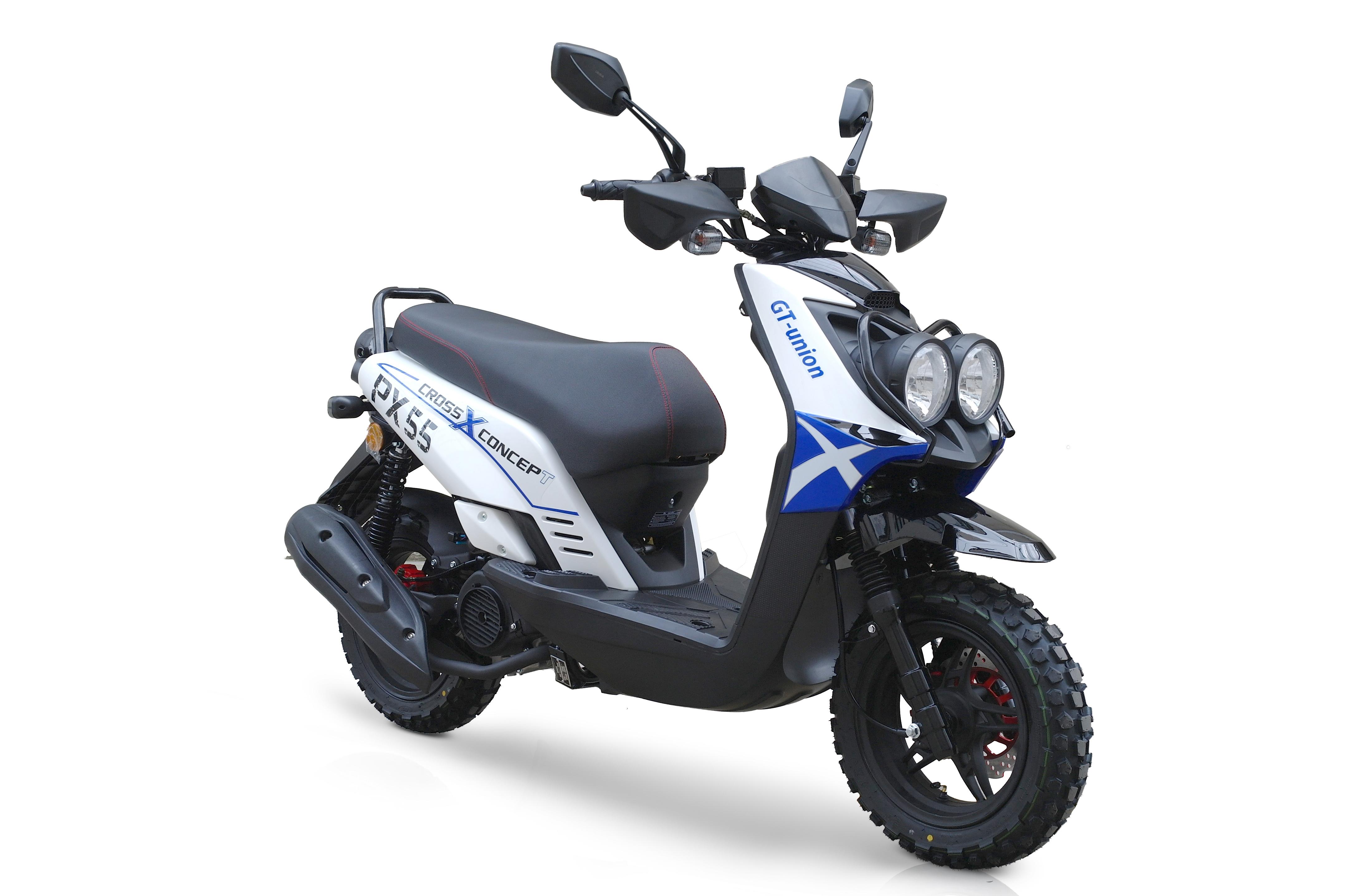 bw cross 125ccm 85kmh motorroller blau bw cross 125 blau. Black Bedroom Furniture Sets. Home Design Ideas