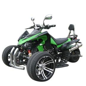 TRIKE QUAD 250ccm Speedtrike carbon Optik mit Straßenzulassung Grun