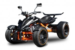 QUAD 250ccm SPY SPYDER F1 250 18PS-100kmh Matt-Black-orange