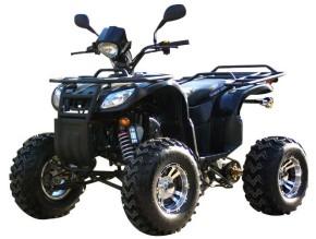 QUAD ATV EAGLE FARMER 250ccm mit Anhängerkupplung! SCHWARZ